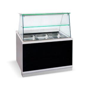 BFC 110 Wood,  Ψυγείο σαλατών με βιτρίνα, GN 1/1 BAMBAS