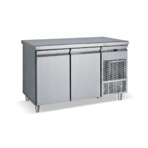 PG 139, Ψυγείο πάγκος με πόρτες GN και ψυκτικό μηχάνημα BAMBAS