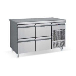 PG139 S, Ψυγείο πάγκος συντήρηση με 4 συρτάρια BAMBAS