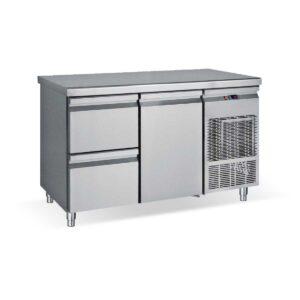 PG139 1S1P, Ψυγείο πάγκος συντήρηση με 2 συρτάρια  και 1 πόρτα GN BAMBAS