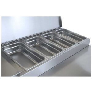 PIM 155  Ψυγείο σαλατών χωρίς βιτρίνα με 2 πόρτες BAMBAS
