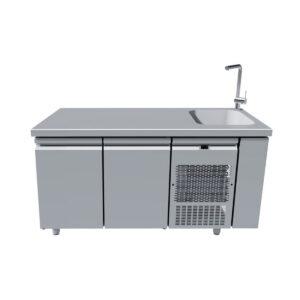 PG 159, Ψυγείο πάγκος με γούρνα BAMBAS